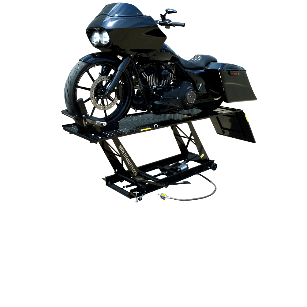 Titan LDML-1000L Motorcycle Lift, FREE Shipping, (Additional Fees May Apply *See Notes*)