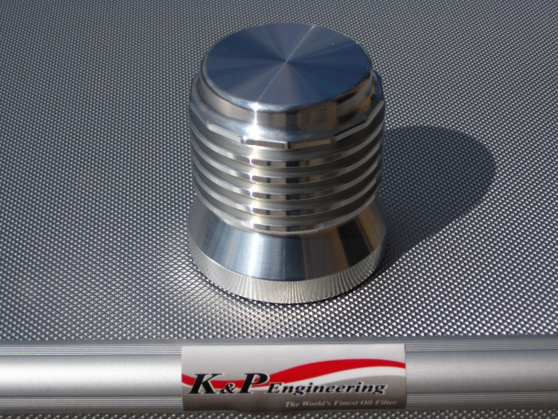 K&P Engineering Reusable Micronic Oil Filters - Fits All HD Except V-Rod - Billet