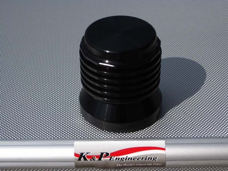 K&P Engineering Reusable Micronic Oil Filters - Fits All HD Except V-Rod - Anodized